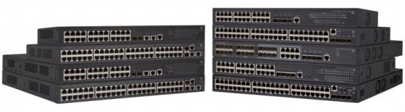 The switch hpe 5130 EI series